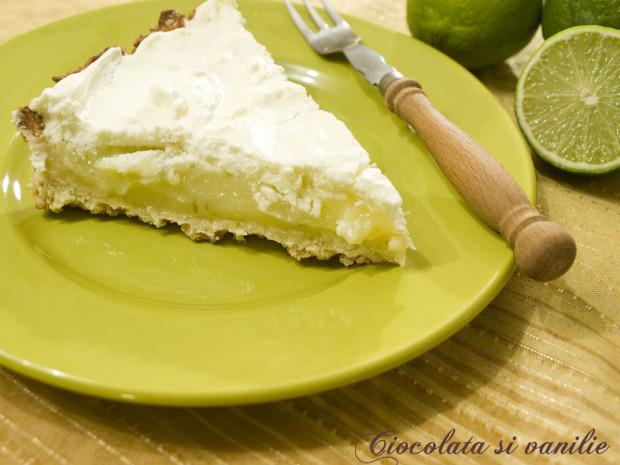 tarta cu lime si cocos