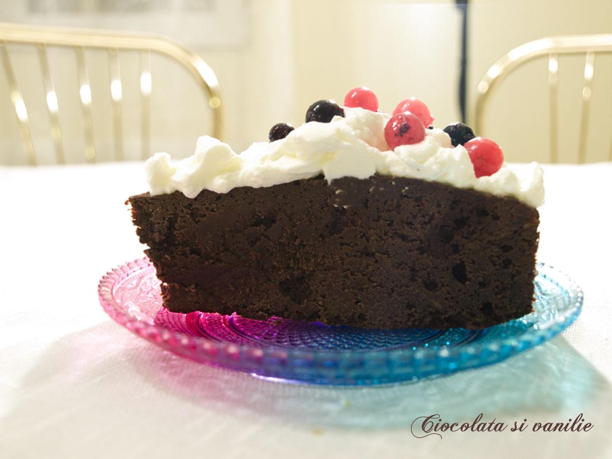 Mousse de ciocolata la cuptor
