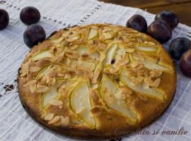 prajitura cu pere si prune