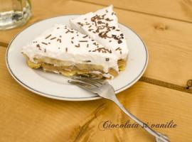 Banoffee Pie - Tarta cu banane si caramel
