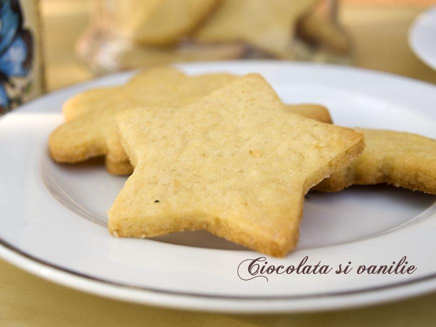 Biscuiți cu vanilie – desertul perfect lângă cafea