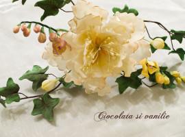 Floare din pasta de zahar