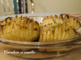 cartofi hasselback / cartofi acordeon la cuptor