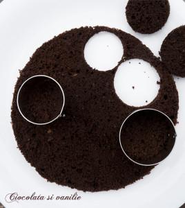 "Tiramisu ""making off"" - blat genoise cu cacao"