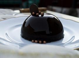 prajitura cu mousse de ciocolată si cremă de lămâie