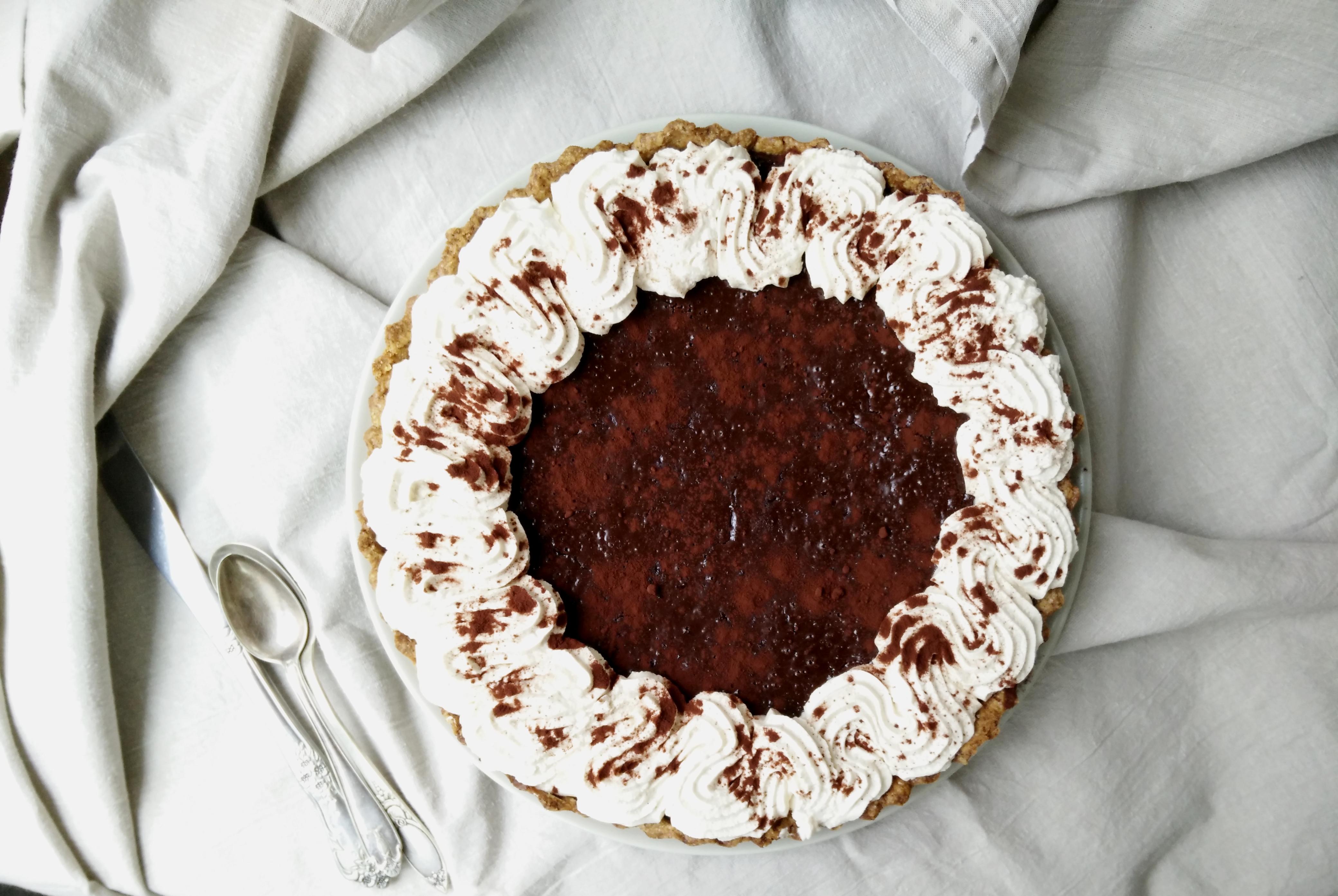 tarta cu ciocolata si cafea