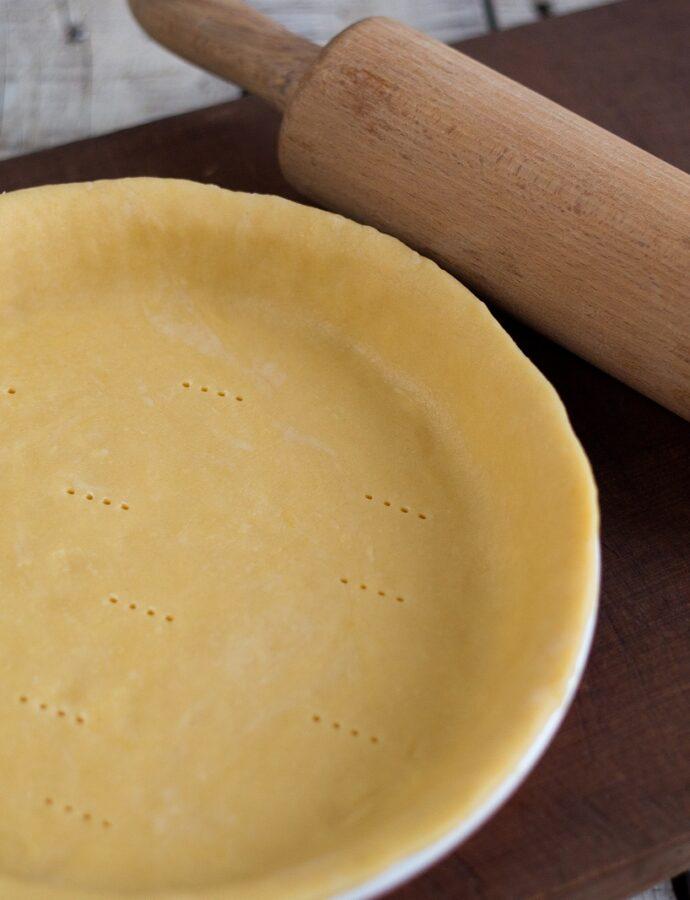Aluat pentru tartă sărată – Pâte brisée