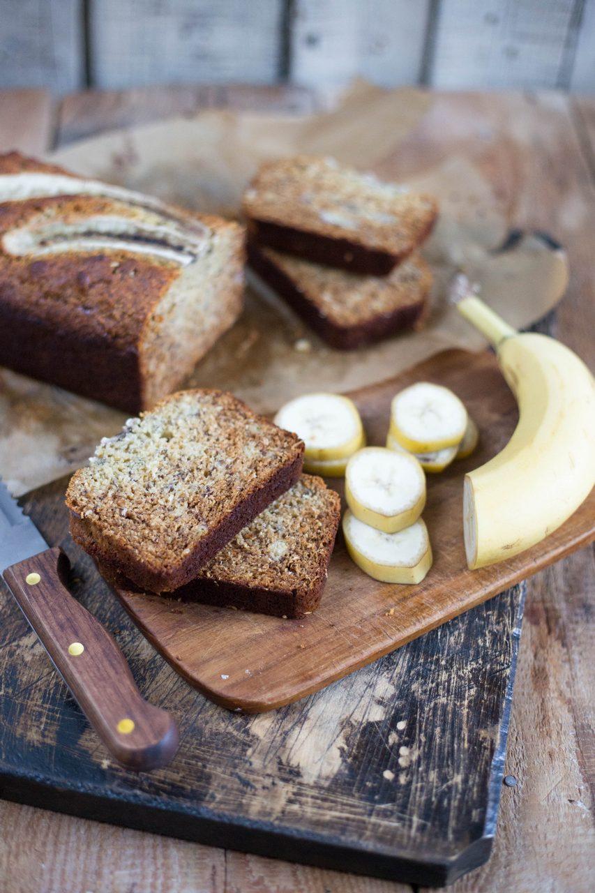 Banana bread - Chec cu banane