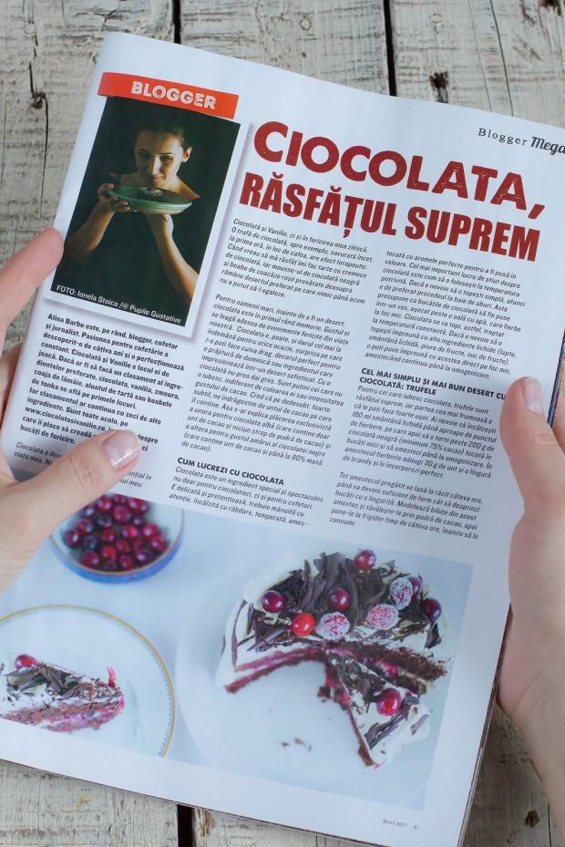 Ciocolata si Vanilie _ Revista Mega Image Mai