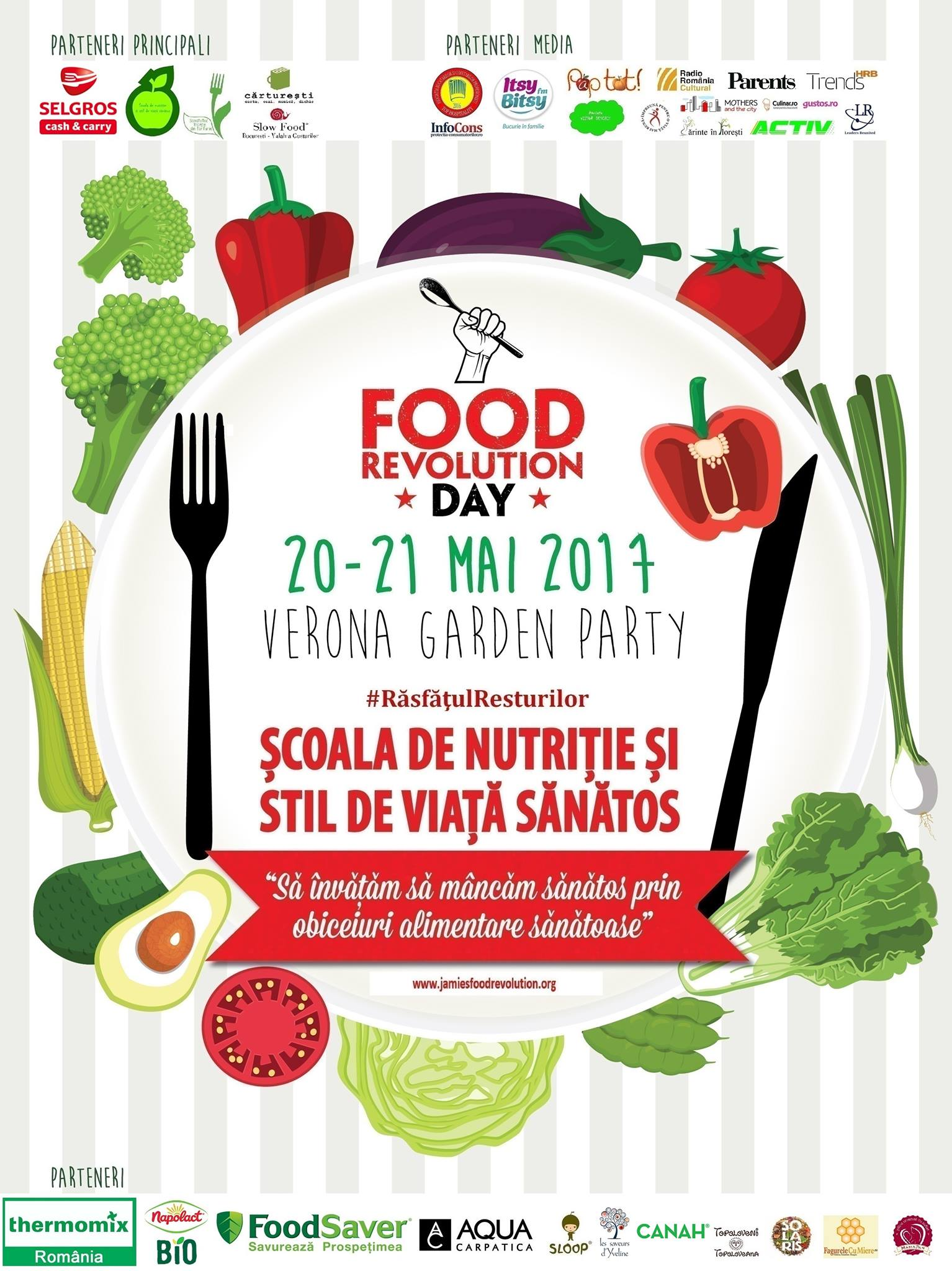 Food Revolution Day - Gradina Verona