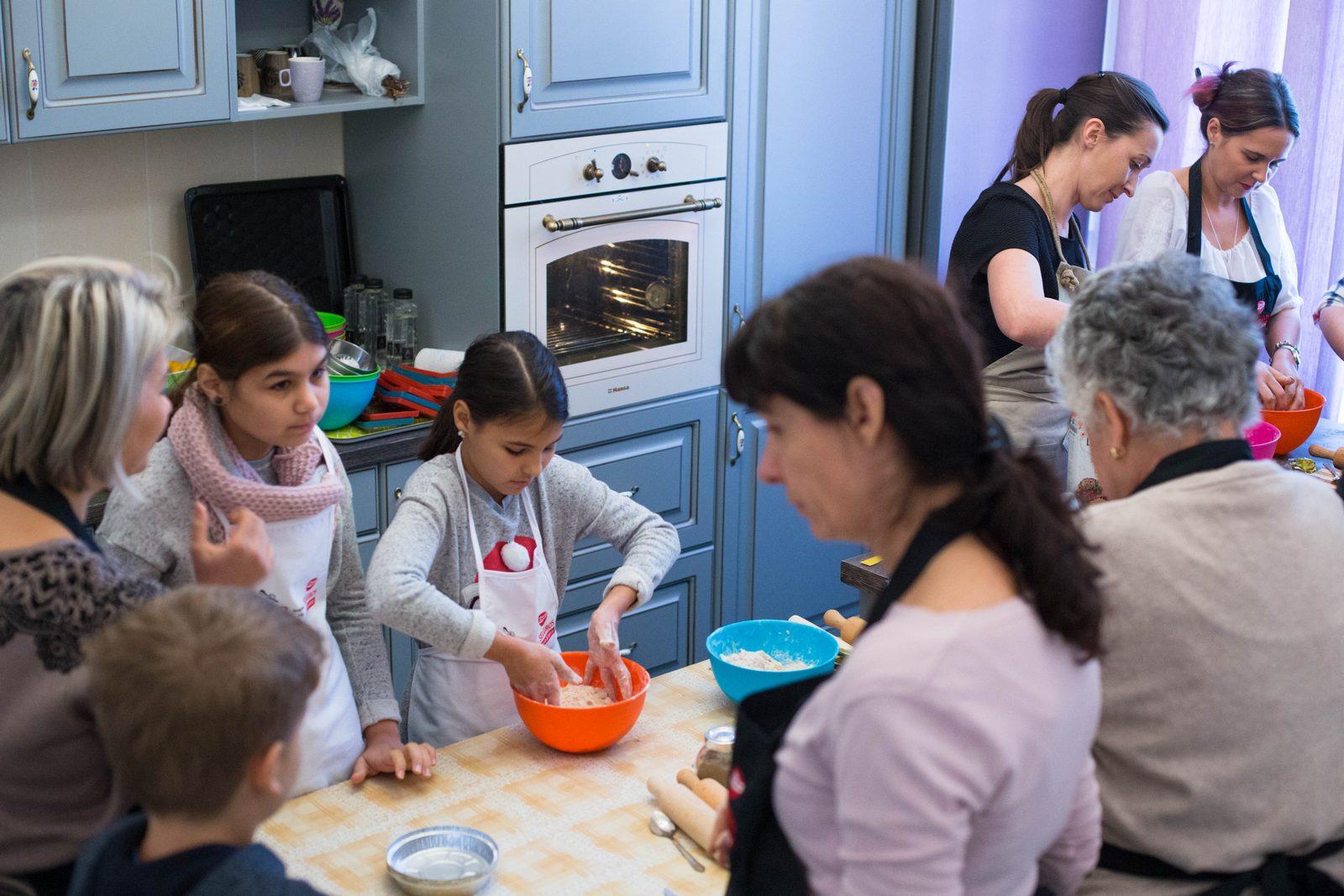Atelier de tarte - Ciocolata si Vanilie