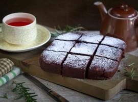 prajitura cu piure de castane si rozmarin