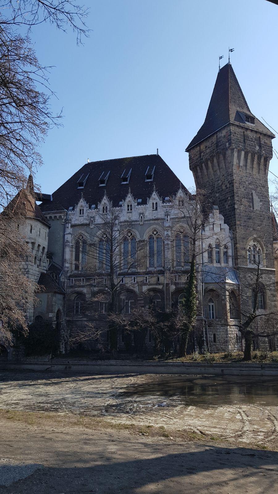 Budapesta_ Castelul Vajdahunyad