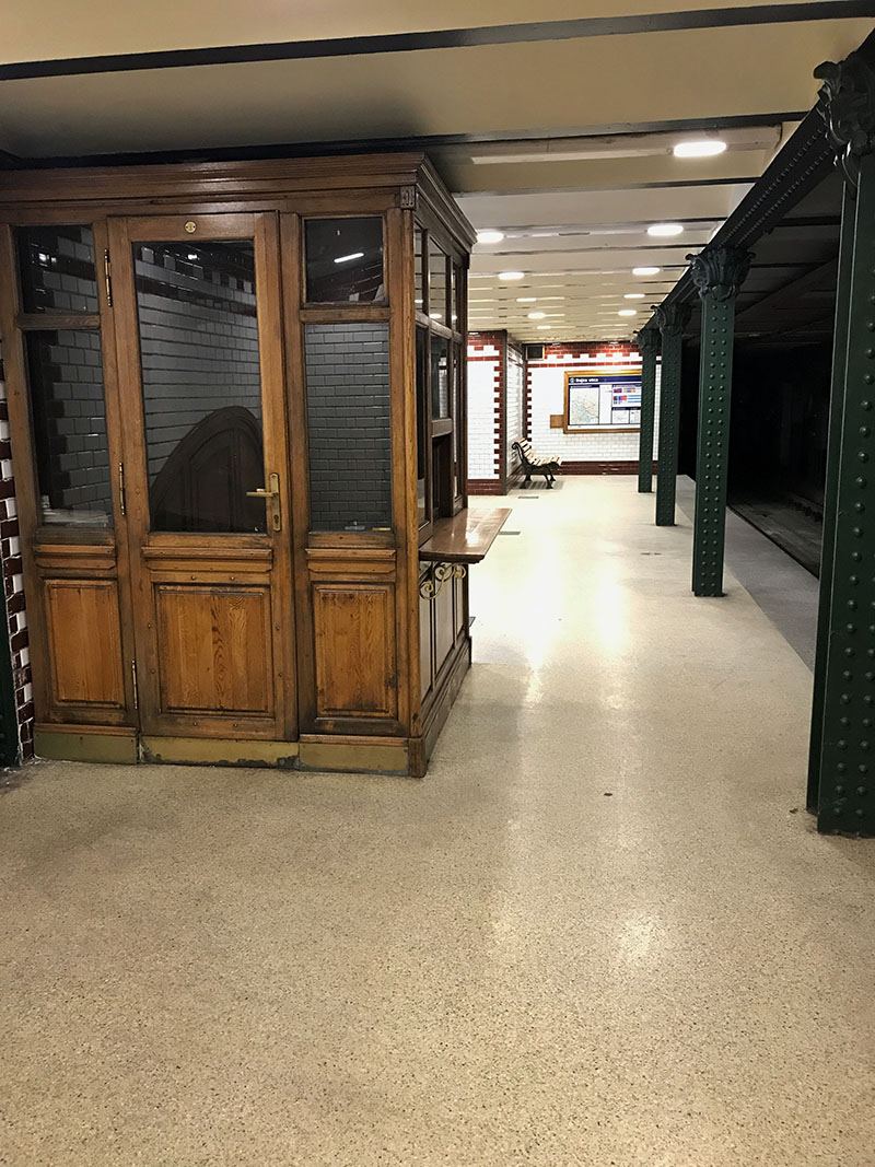 Budapesta_linie metrou galbena