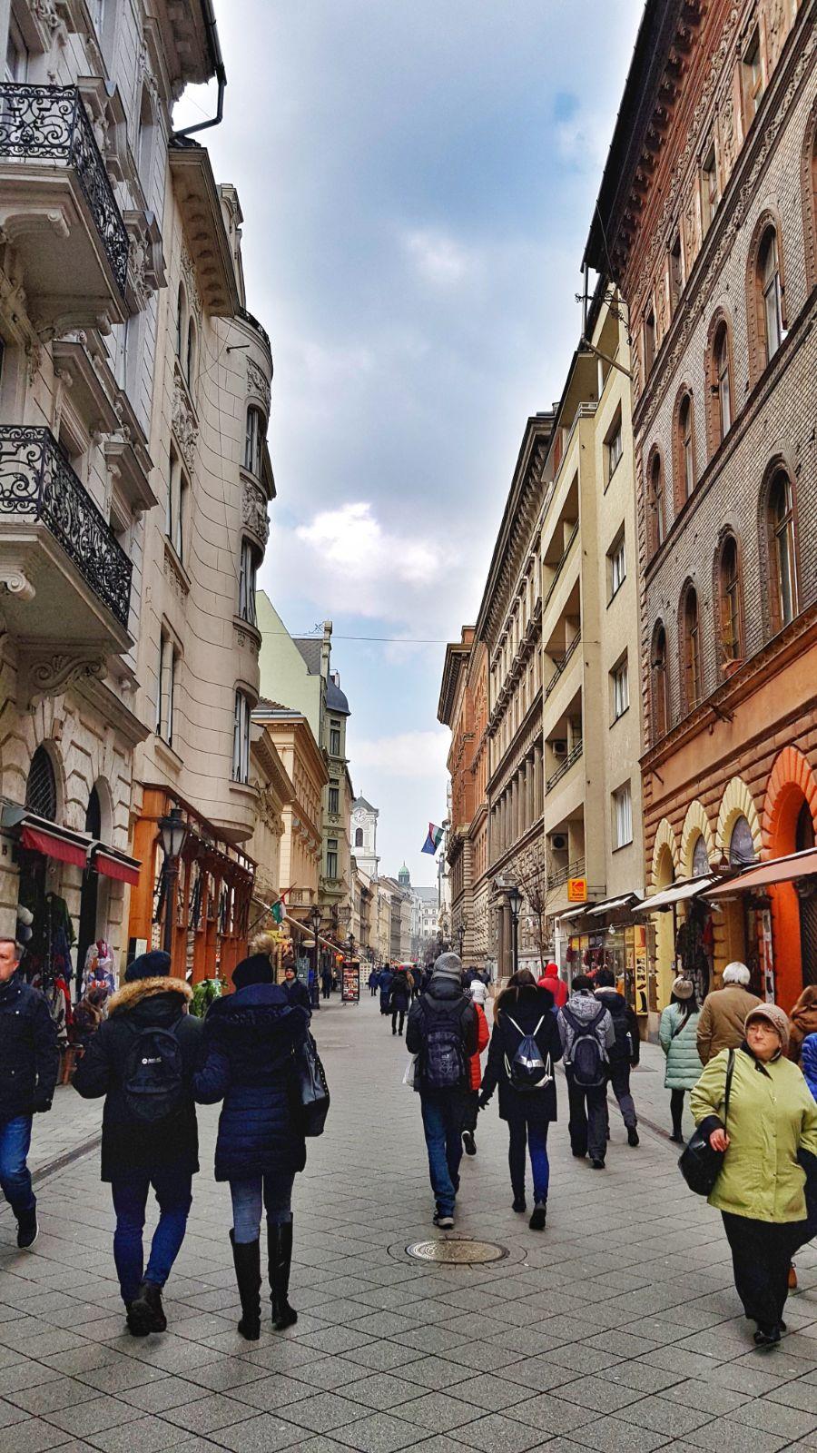 Budapesta_Vaci utca