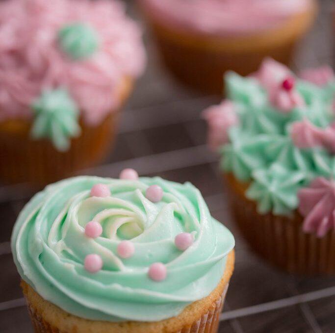 Cupcakes vanilați