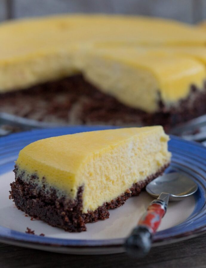Cheesecake simplu. Din întâmplare