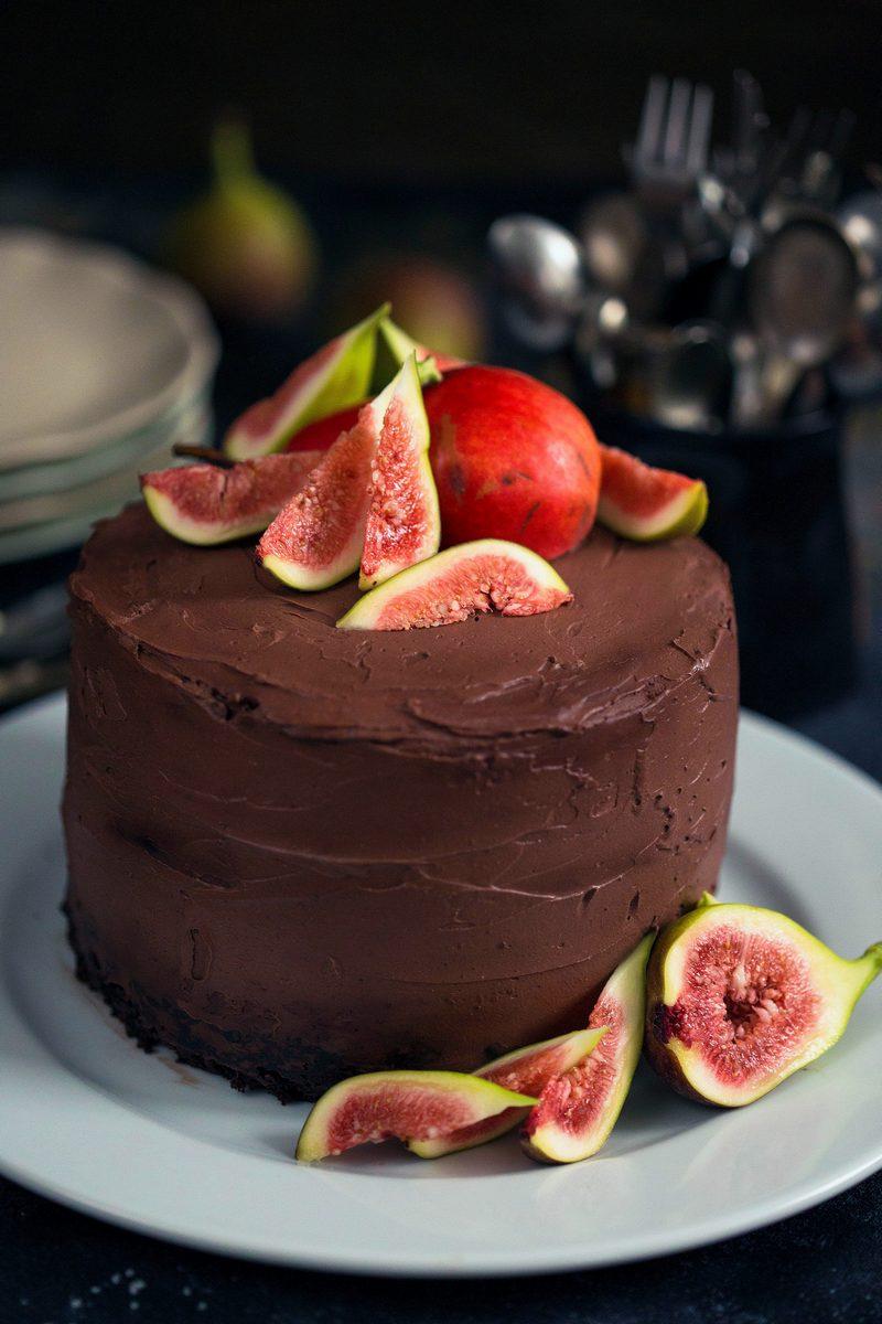 tort cu ciocolata si cafea