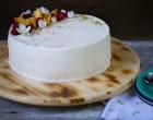 tort cu piersici și cremă de brânză