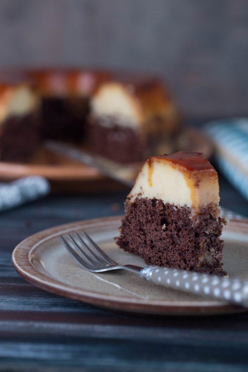 chocoflan / prăjitura imposibilă