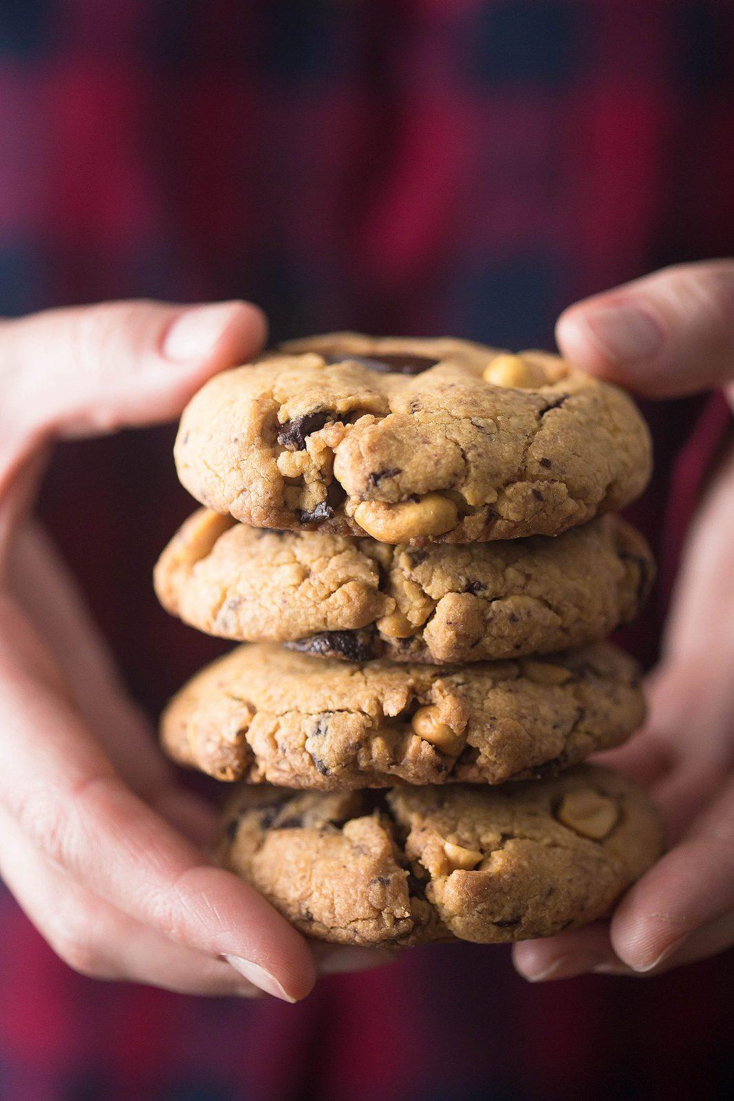 cookies cu ciocolată și arahide