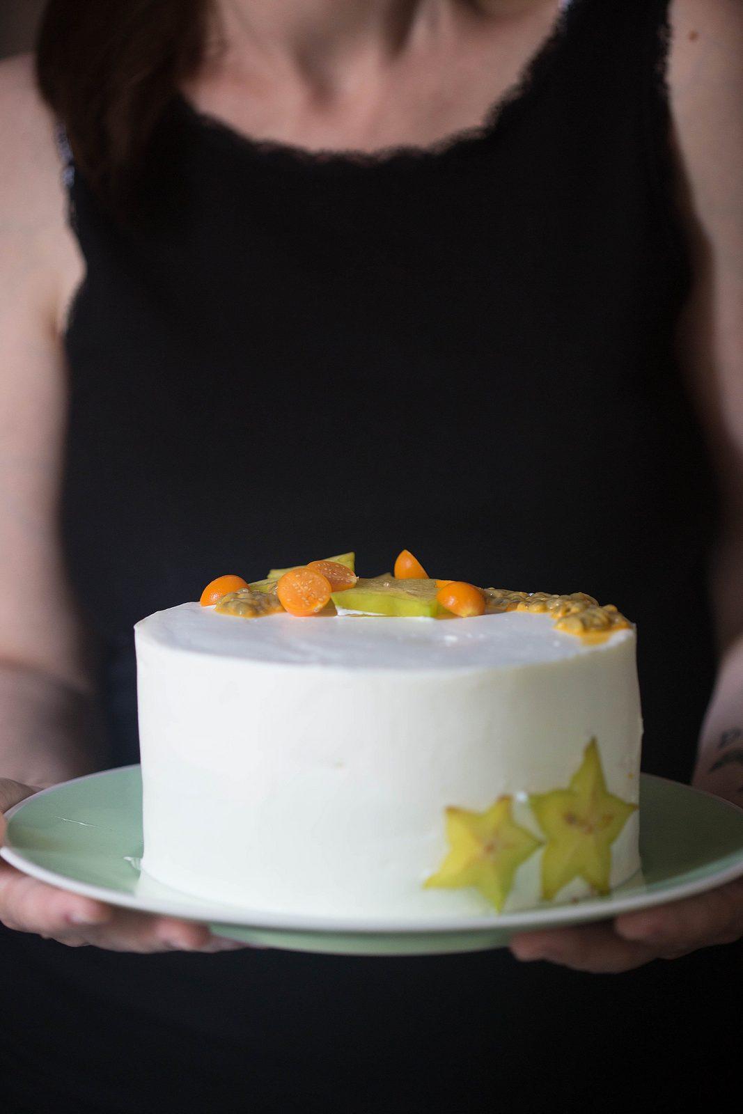 tort cu lime si ciocolată