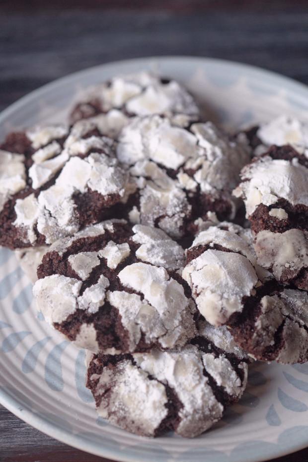 crinkles cu ciocolată
