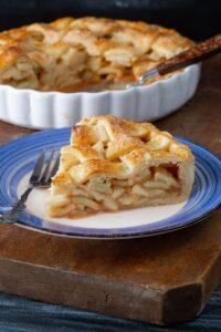 plăcintă americană cu mere / american pie cu mere