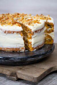 carrot cake - tort de morcovi