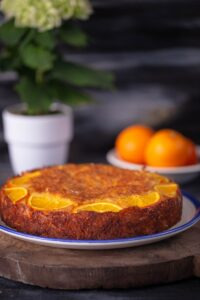 portokalopita - prăjitură cu portocale și iaurt